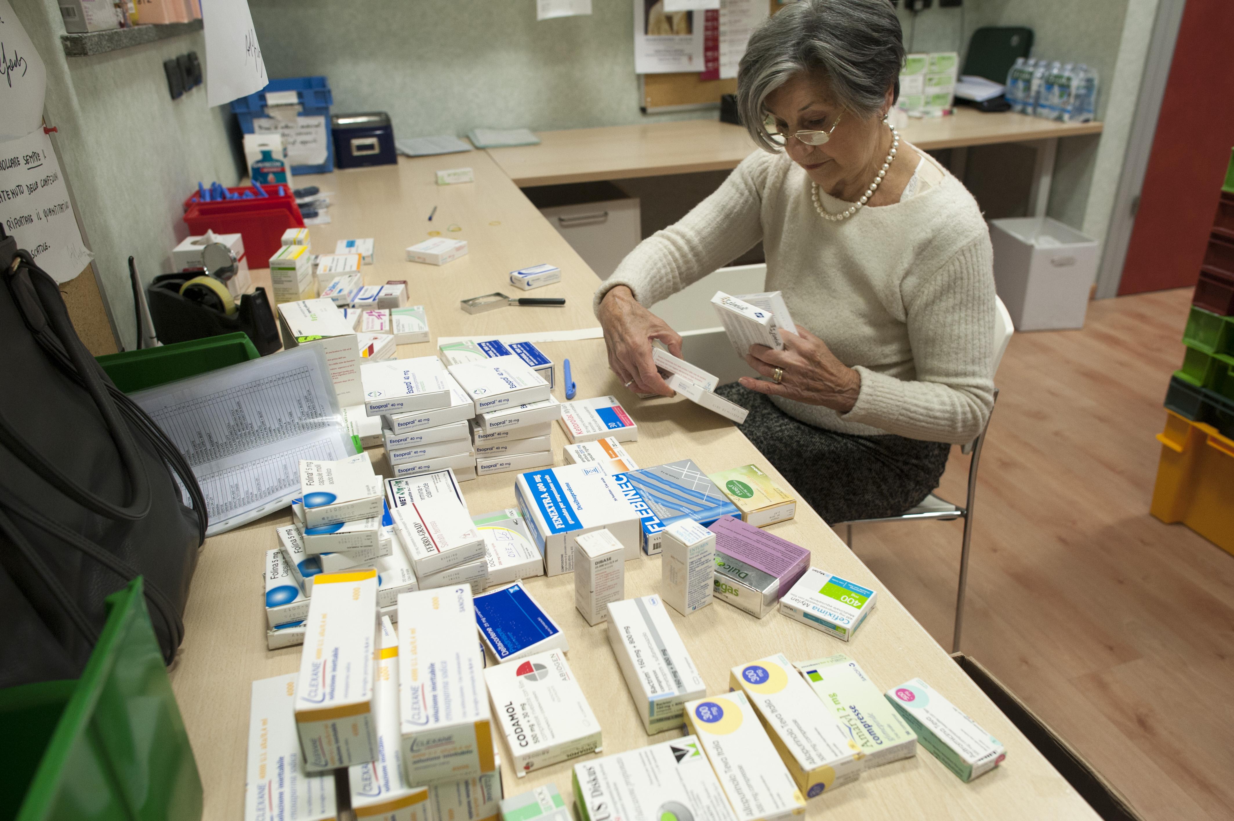 Sportello distribuzione farmaci