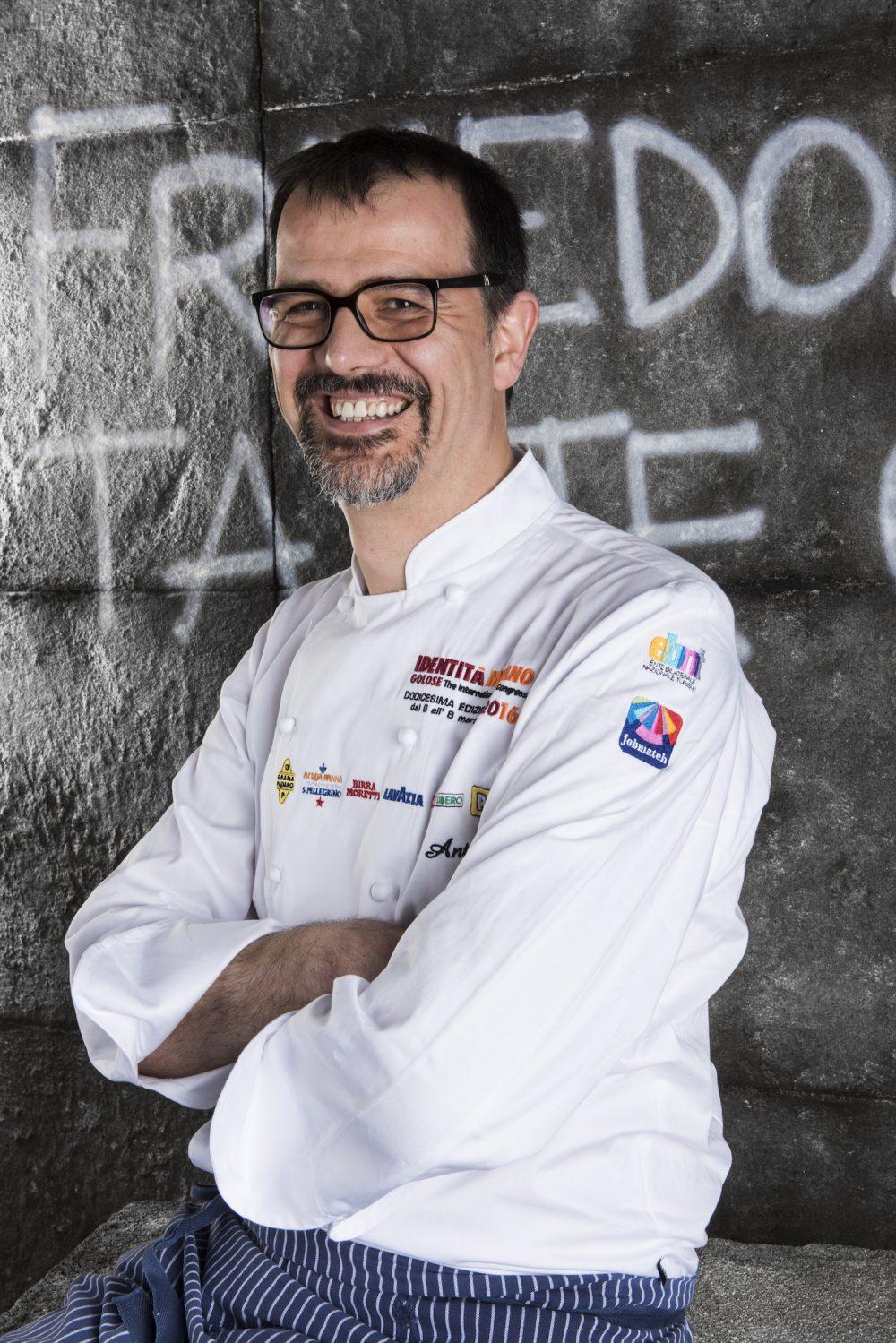 Antonio Guida del Ristorante Seta del Mandarin Hotel di Milano
