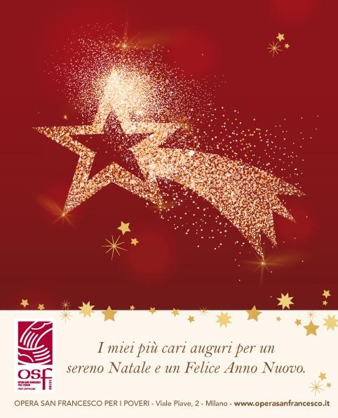 OSF Natale auguri biglietti