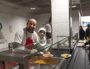 Antonio Albanese volontario in OSF