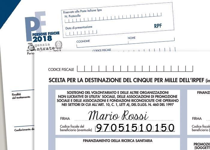 Destinare il 5 per mille a Opera San Francesco con il modello redditi