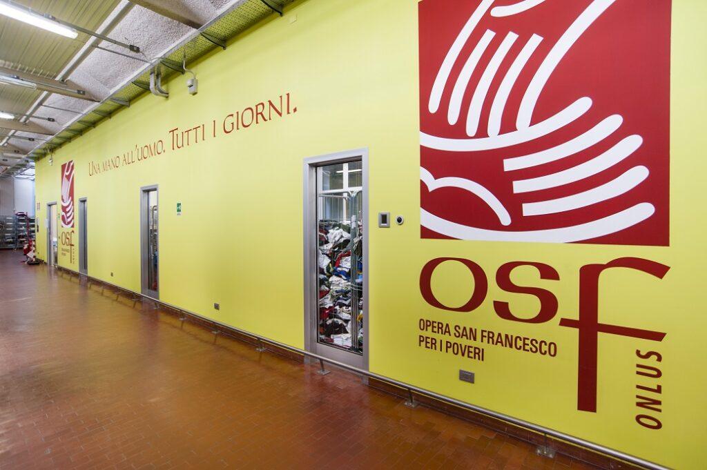 Dove donare vestiti usati OSF via Vallazze 113