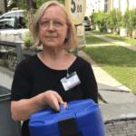 Santina, volontaria al pony della solidarietà