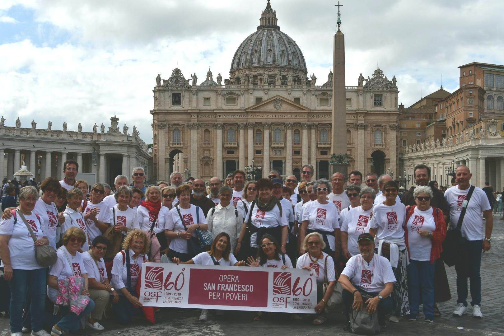 volontari a roma