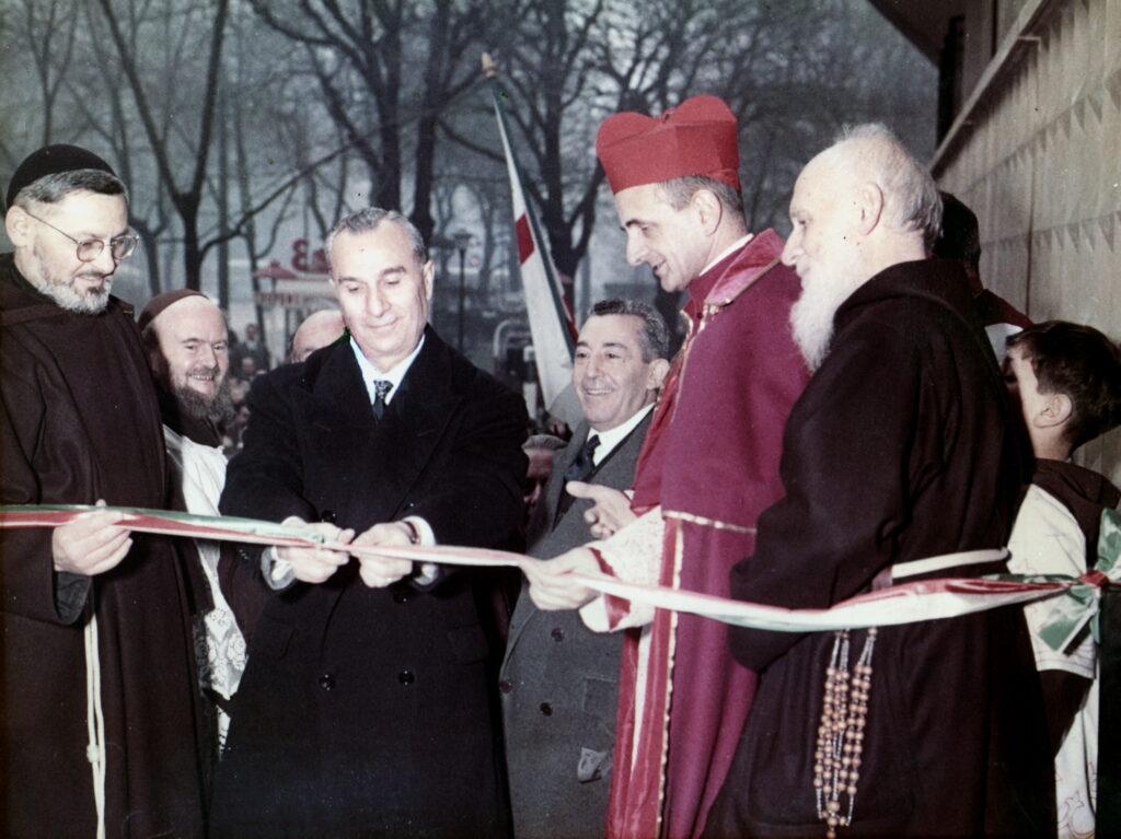 Inaugurazione Mensa Concordia 1959