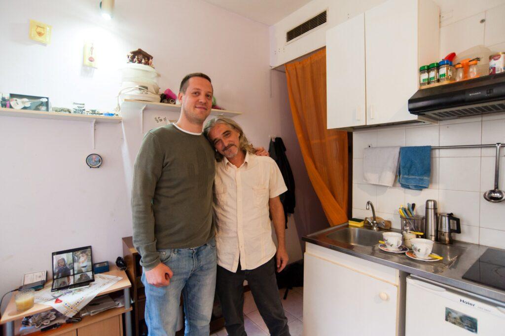 Housing first lucien