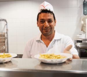 Cuoco servizio mensa di Opera San Francesco | OSF