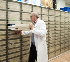 Farmacista ripone medicinali   OSF