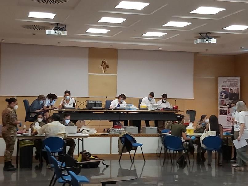 Anche gli ospiti di Opera San Francesco si vaccinano | OSF