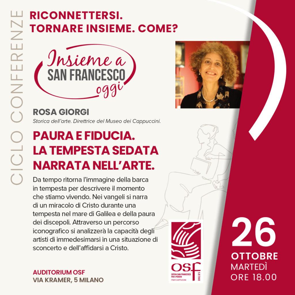 conferenza rosa giorgi